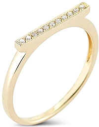 Dana Rebecca Diamond Bar Ring