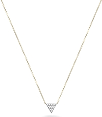 "Dana Rebecca 'Emily Sarah""' Diamond Triangle Necklace"