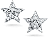 Dana Rebecca 'Julianne Himiko' Diamond Star Earrings