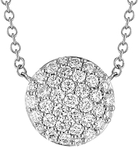 Dana Rebecca 'Lauren Joy' Large Diamond Necklace