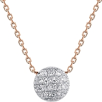 Dana Rebecca 'Lauren Joy' Mini Diamond Necklace