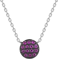 Dana Rebecca 'Lauren Joy' Mini Ruby Necklace