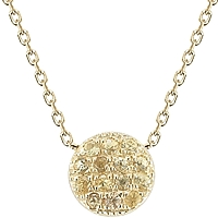 Dana Rebecca 'Lauren Joy' Mini Yellow Diamond Necklace