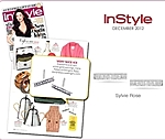 Sylvie Rose as featured in InStyle!