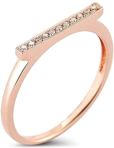 05de2f3e78bde5 Dana Rebecca 'Sylvie Rose' Diamond Bar Ring DR-R284