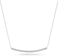 Dana Rebecca 'Sylvie Rose' Long Diamond Necklace