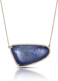 Doves Parisian Plum Pendant