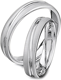 Furrer Jacot 'Magiques' Men's Wedding Band