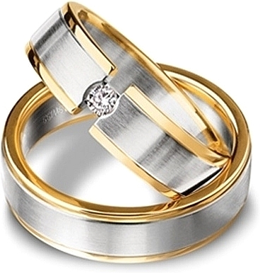 Shown here in 18k white gold and yellow gold with and without a single diamond.