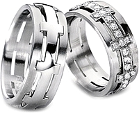 Furrer Jacot 'Sculptures' Men's Wedding Band