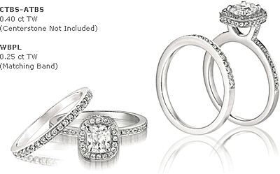 This Image Shows The Setting With Its Matching Wedding Band Style Hd Wbpl Which
