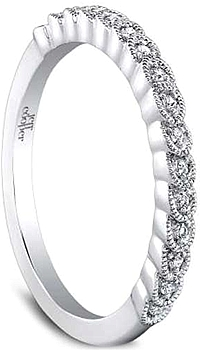 Jeff Cooper 'Arielle' Diamond Wedding Band