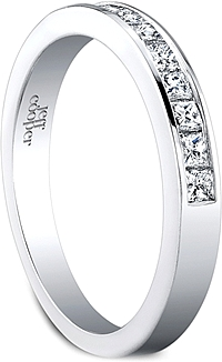 Jeff Cooper Channel Set Wedding Band