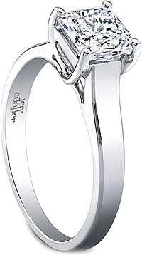 Jeff Cooper 'Estella' Solitaire Engagement Ring