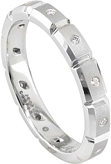 Jeff Cooper Eternal 12  Diamond Wedding Band