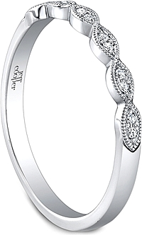 Jeff Cooper Marquise Shaped Diamond Wedding Band