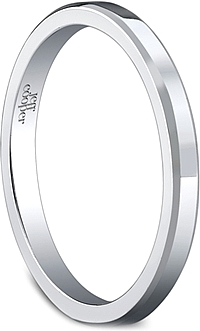 Jeff Cooper Plain Wedding Band- 2mm