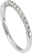 Jeff Cooper Prong Set Diamond Wedding Band