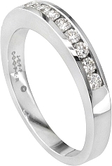 Jeff Cooper Round Diamond Nikole Collection Wedding Band