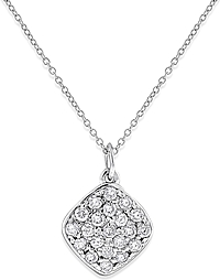 KC Designs 14K White Gold Diamond Pendant