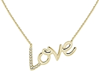 KC Designs Diamond Love Necklace