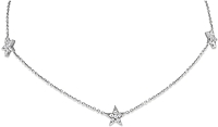 KC Designs Triple Star Necklace