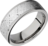 Lashbrook Titanium & Meteorite Wedding Band