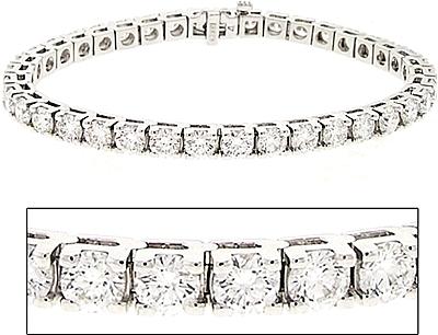 Platinum 10 00ct Diamond Tennis Bracelet 0 Reviews Write A Review View Photos