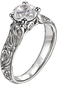 c62775fa4 Scott Kay Engagement Ring with Caesar Engraving