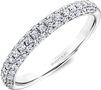 Scott Kay Pave Diamond Wedding Band