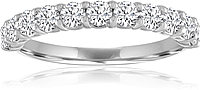 Signature Prong Set Diamond Wedding Band