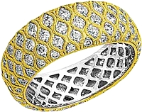 Simon G 18k Yellow Gold Diamond Ring- 2.05ct TW