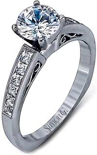 Simon G Engagement Rings And Settings