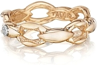 Tacori 18k Rose Gold Crescent Link Ring