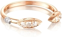 Tacori 18k Rose Gold Diamond Marquise Ring