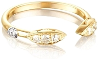 Tacori 18k Yellow Gold Diamond Marquise Ring