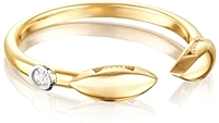 Tacori 18k Yellow Gold Diamond Ring