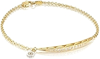 Tacori 18k Yellow Gold Tendril Diamond Bracelet
