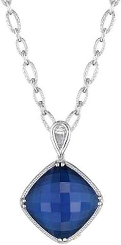 Tacori 18k925 blue quartz pendant sn15735 aloadofball Gallery