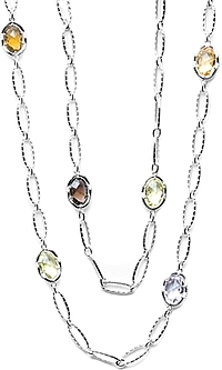 Tacori 18k925 Colored Medley Necklace