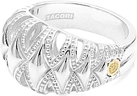 Tacori 18k925 Domed Fashion Ring