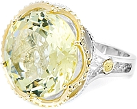 Tacori 18k925 Lemon Quartz Ring