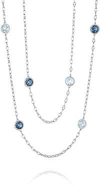 Tacori 18k925 Multi-Stone Necklace