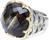 Tacori 18K925 Rutilated Quartz Ring