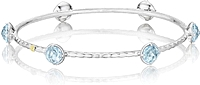 Tacori 18K925 Sky Blue Topaz Bangle