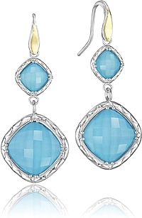 Tacori 18k925 Turquoise Earrings