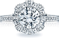 Tacori Bezel Set Diamond Engagement Ring