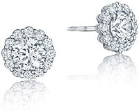 Tacori Diamond Stud Earring Jackets