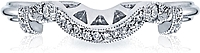 Tacori Fitted Pave Diamond Wedding Band