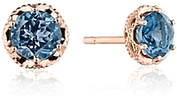 Tacori London Blue Topaz Earrings